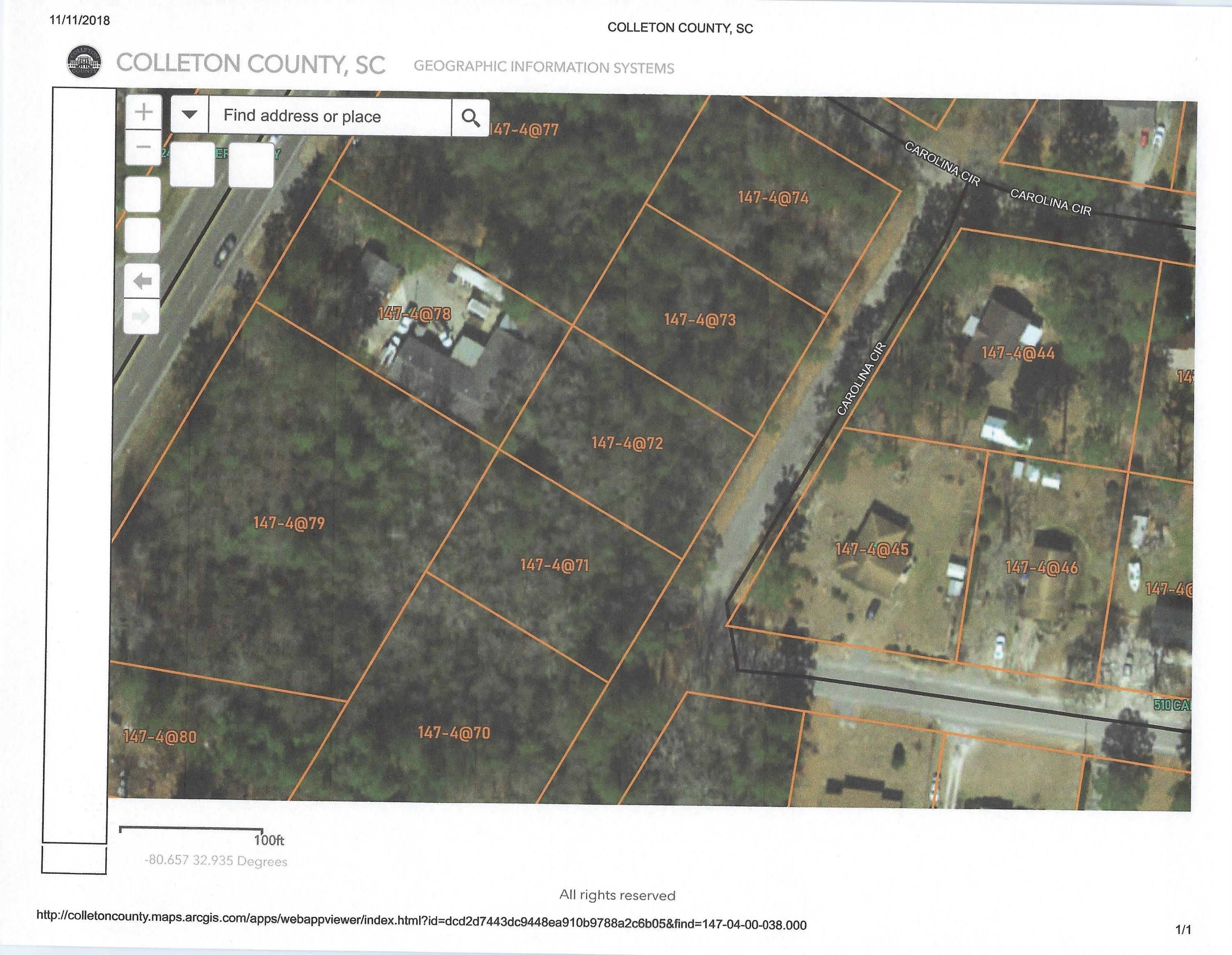 Carolina Circle UNIT Lot 4 Walterboro, SC 29488