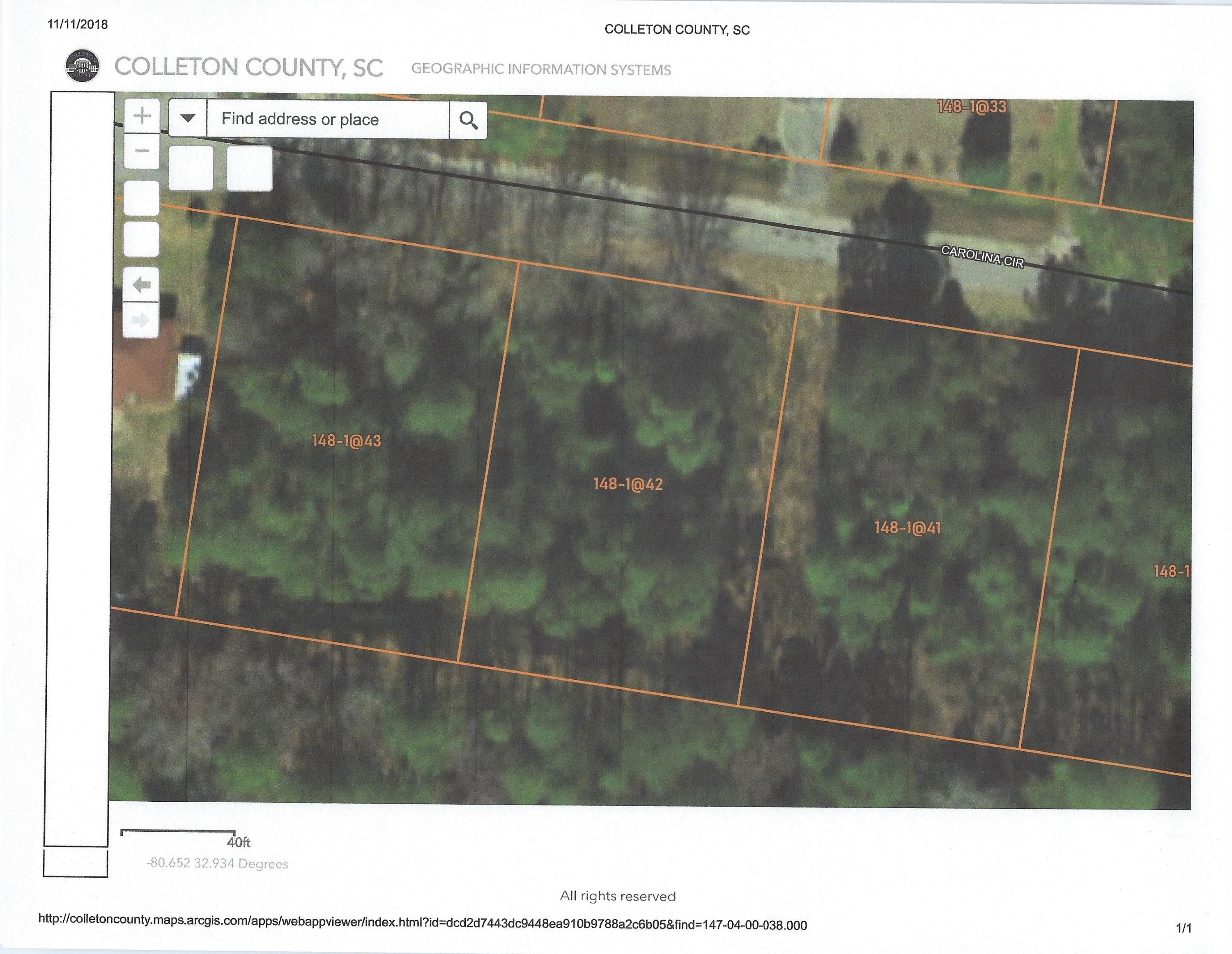 Carolina Circle UNIT Lot 21 Walterboro, SC 29488