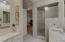 Master bathroom and large walk in closet!