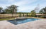 pool and travertine surround