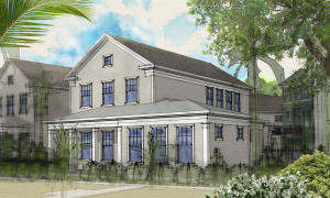 Front View (artist rendering subject to change)