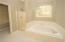 Soaking Tub and Stand-up Shower