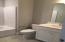 Secondary hall bath