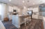 Similar Hillsborough II view of kitchen from dining room (Model Home)