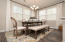 Similar Hillsborough II dining room (Model Home)