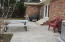 Spacious patio for outside entertaining