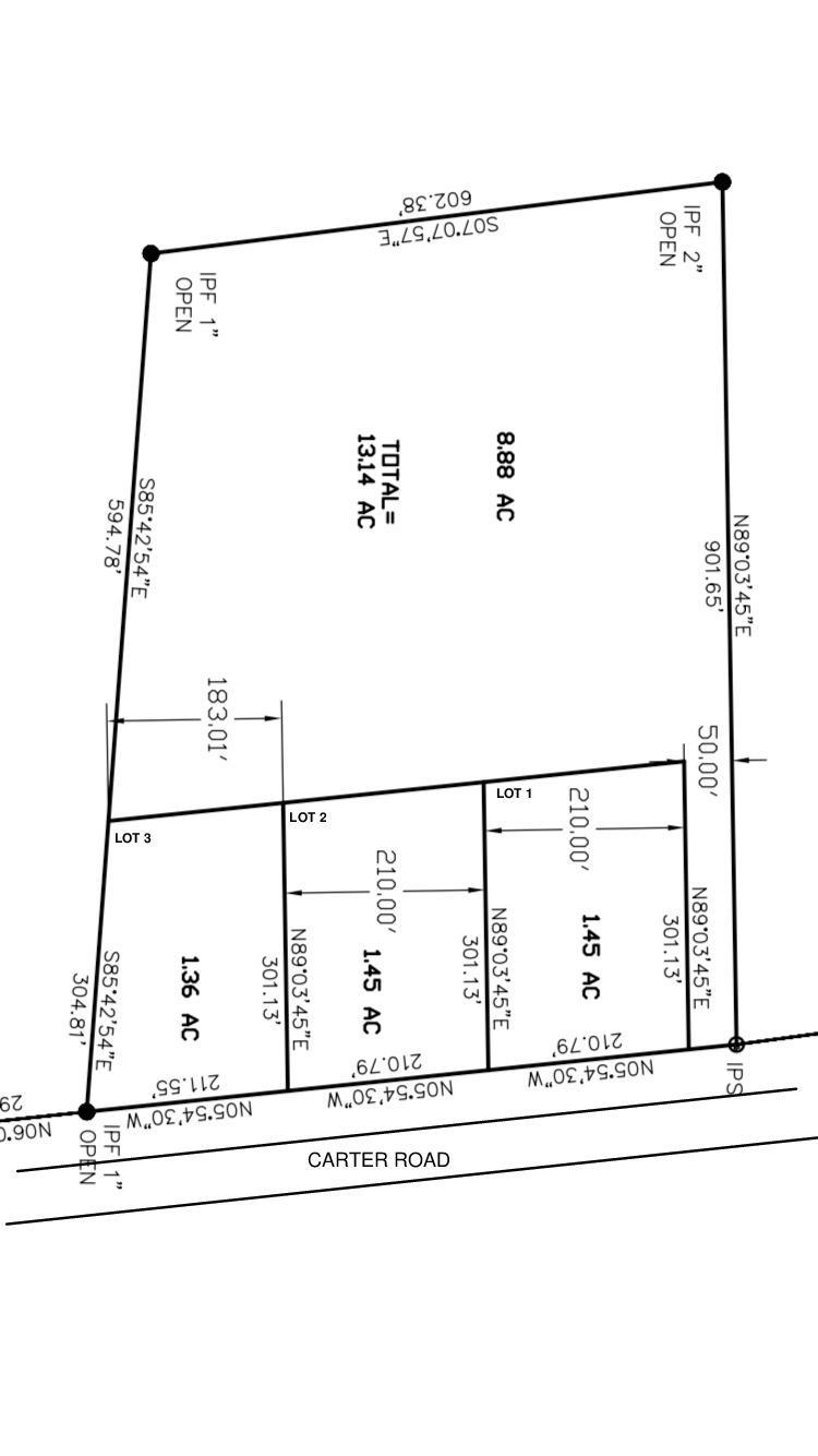 Lot 2 Carter Road Ridgeville, SC 29472