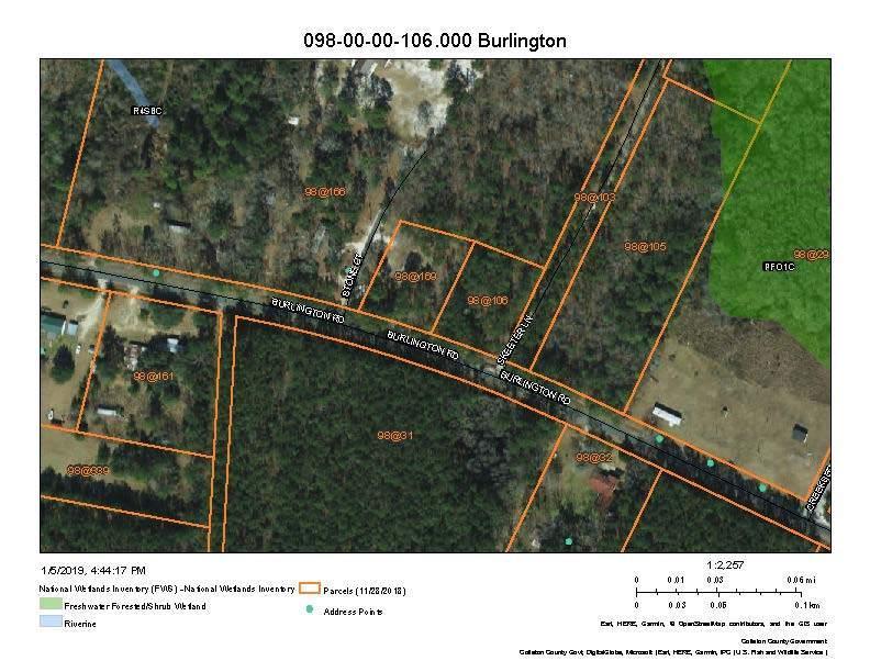 Burlington Road Walterboro, SC 29488