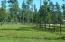 Sample fencing on sold lot 2