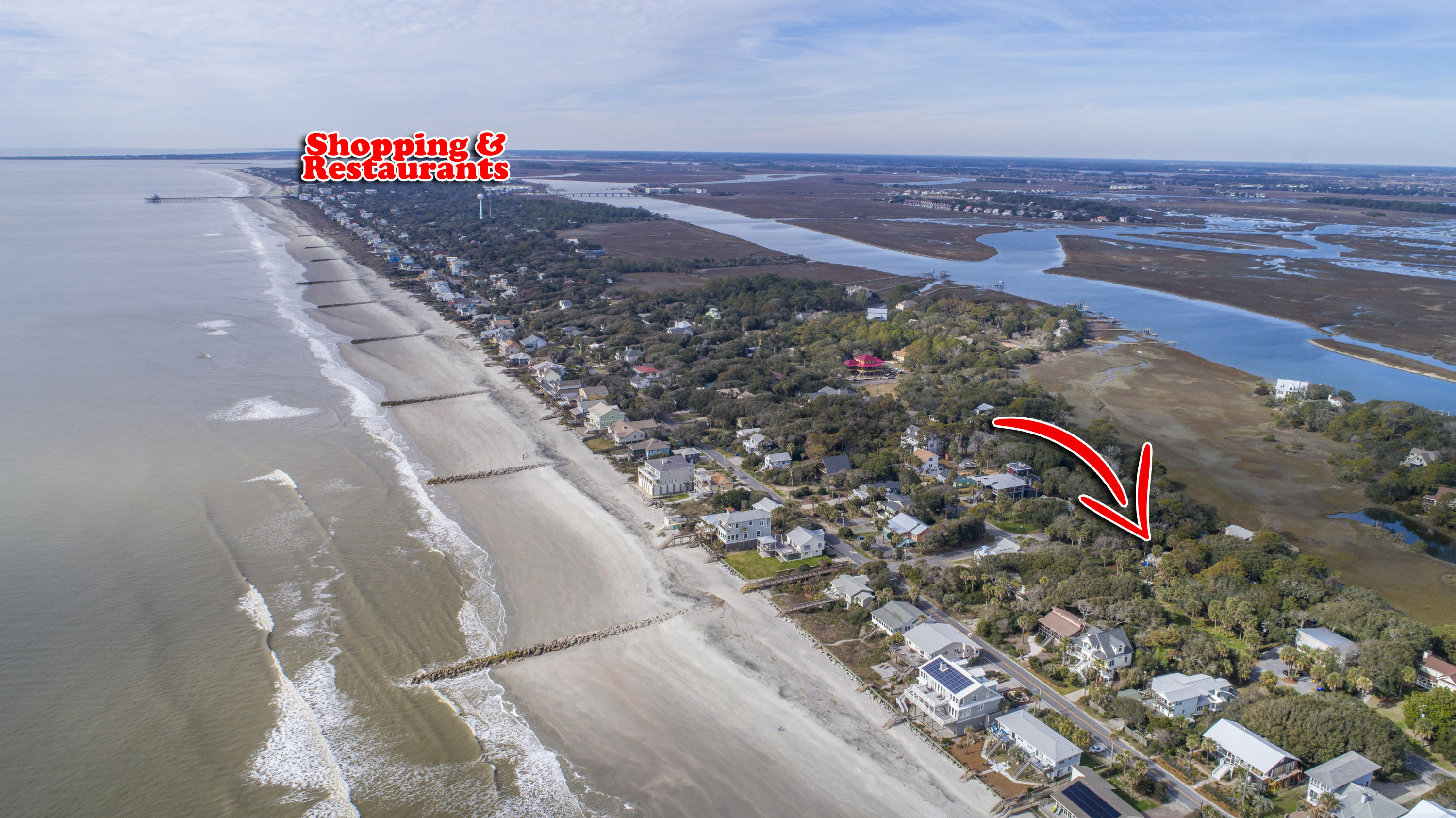 1204 E Ashley Ave Avenue Folly Beach, SC 29439