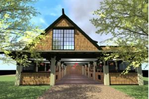 Concept barn plan
