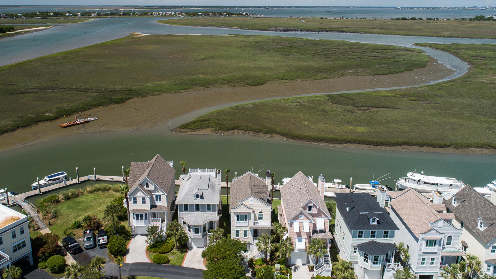 Tolers Cove Homes For Sale - B-4 & B-5 Tolers Cove Marina 70ft + Home, Mount Pleasant, SC - 0