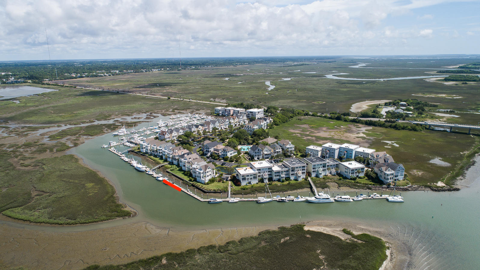 Tolers Cove Homes For Sale - B-4 & B-5 Tolers Cove Marina 70ft + Home, Mount Pleasant, SC - 53