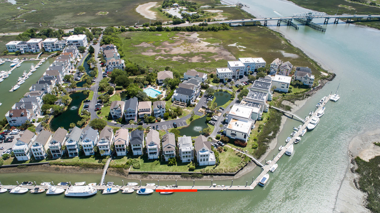 Tolers Cove Homes For Sale - B-4 & B-5 Tolers Cove Marina 70ft + Home, Mount Pleasant, SC - 52