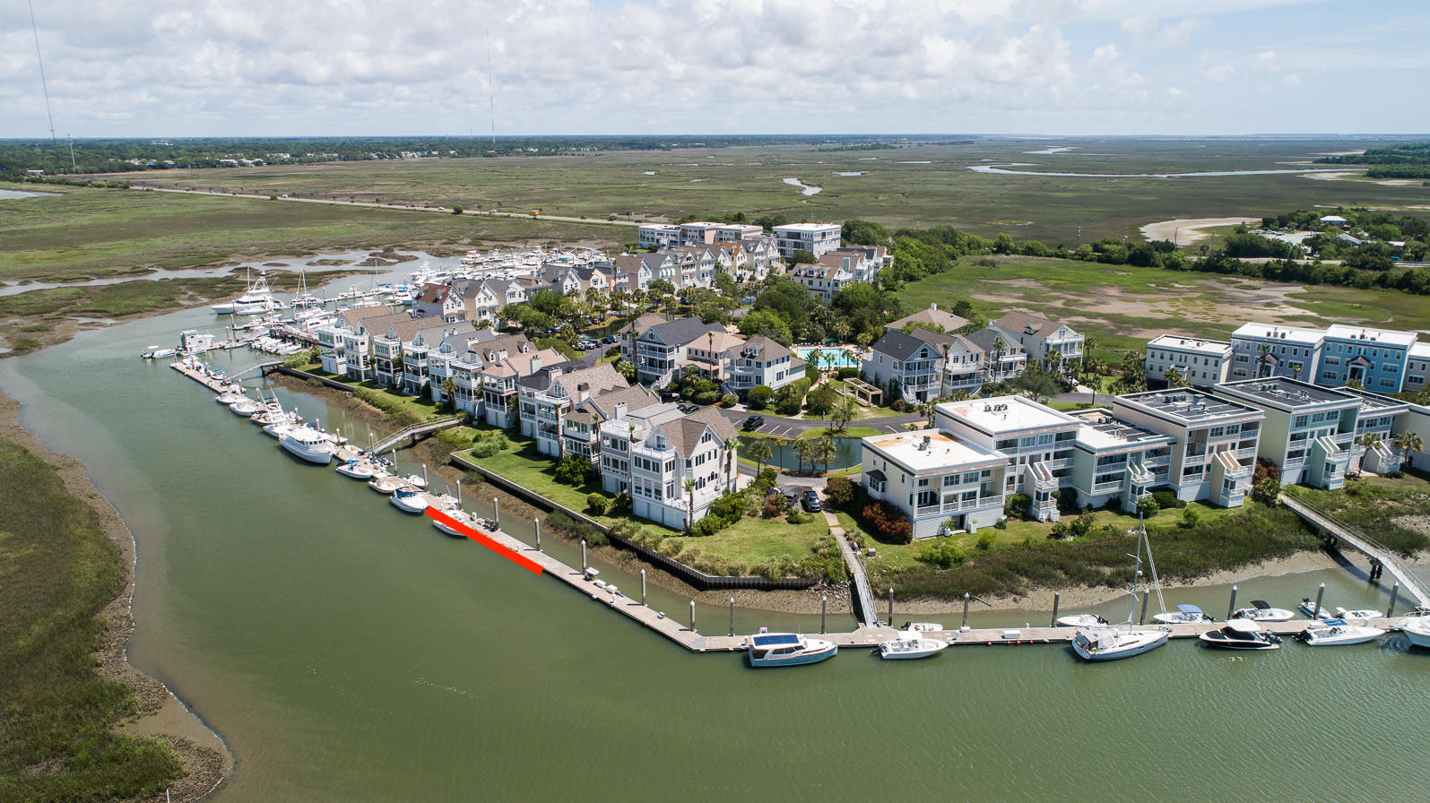 Tolers Cove Homes For Sale - B-4 & B-5 Tolers Cove Marina 70ft + Home, Mount Pleasant, SC - 50