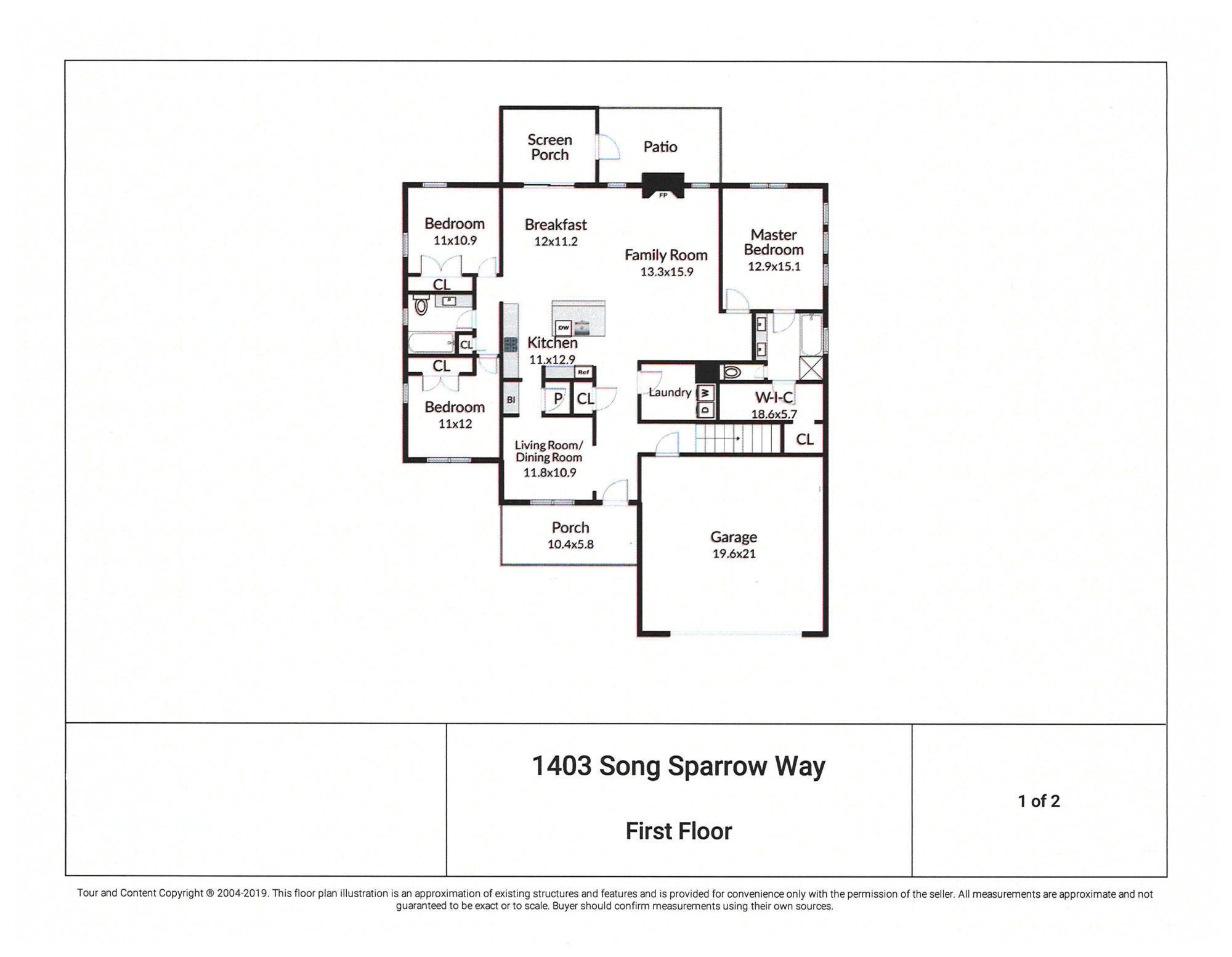 1403 Song Sparrow Way Hanahan, SC 29410
