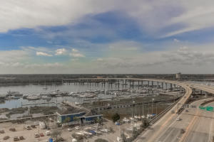 Bird's Eye view of the Ashley River and Charleston City Marina !