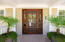Beautiful entry to 2808 Atlantic Ave.