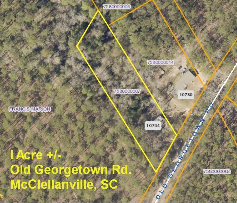 10744 Old Georgetown Road Mcclellanville, SC 29458
