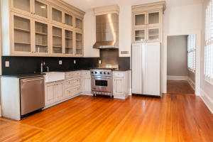 custom cabinets and upscale appliances