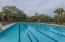 Heated original pool...swim team practices here! Join us!