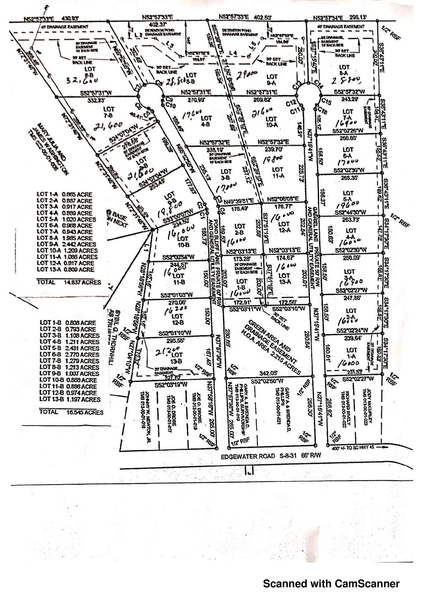 Edgewater Road Pineville, SC 29468