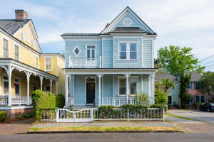 Built in 1910, 3 Bennett is a beautiful historic home overlooking Cannon Park.
