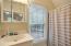 Full bathroom in Apartment above garage