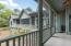 Large wrap-around porch facing the South Edisto River