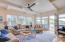 """2916 Palm Blvd Bright, light, airy and private. 55""""Samsung LED HDTV along with a 40"""" flat panel TV with Blu-Ray player."""