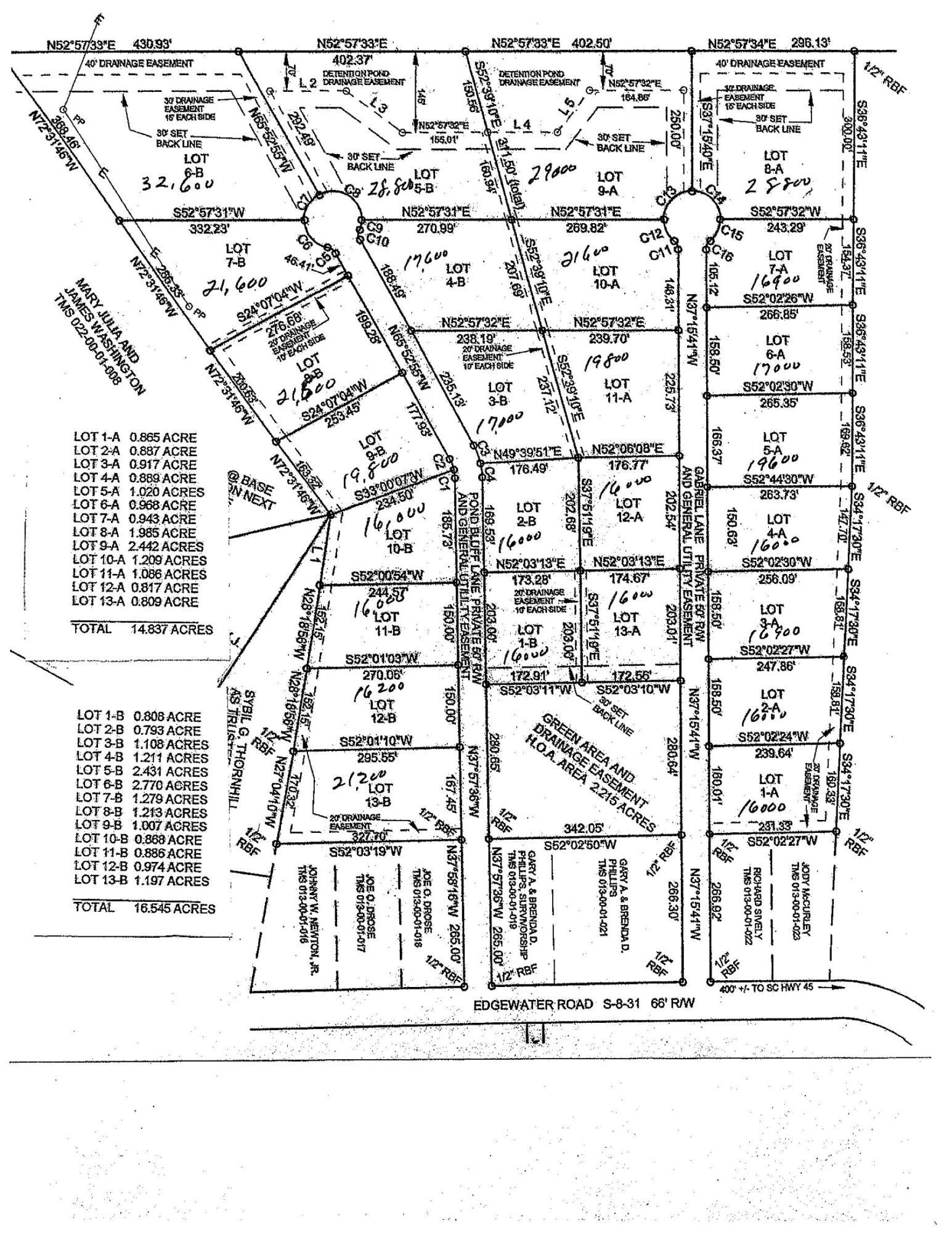 Edgewater Road UNIT Lot 13b Pineville, SC 29468