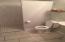Bonus Suite in Garage - Bathroom Shower, Sink & Toilet