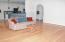 Open Floor Plan with Bruce Hardwood Floors