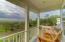 Big views on the balcony!