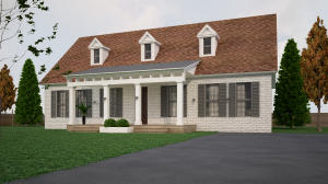 Exterior Rendering of this Current Home under Renovation