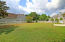 Large spacious backyard