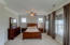 Master Bedroom offers wonderful light and accesss to upper porch