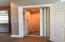Elevator from garage to kitchen for deliveries and ease