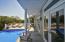 Pool facing the intracoastal