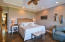 Master Bedroom with views of the marsh and waterway