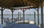 Covered dock for entertaining and oyster roasts