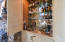 Built in bar in family room