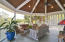 Screened in porch for catching the island breeze and enjoying the views