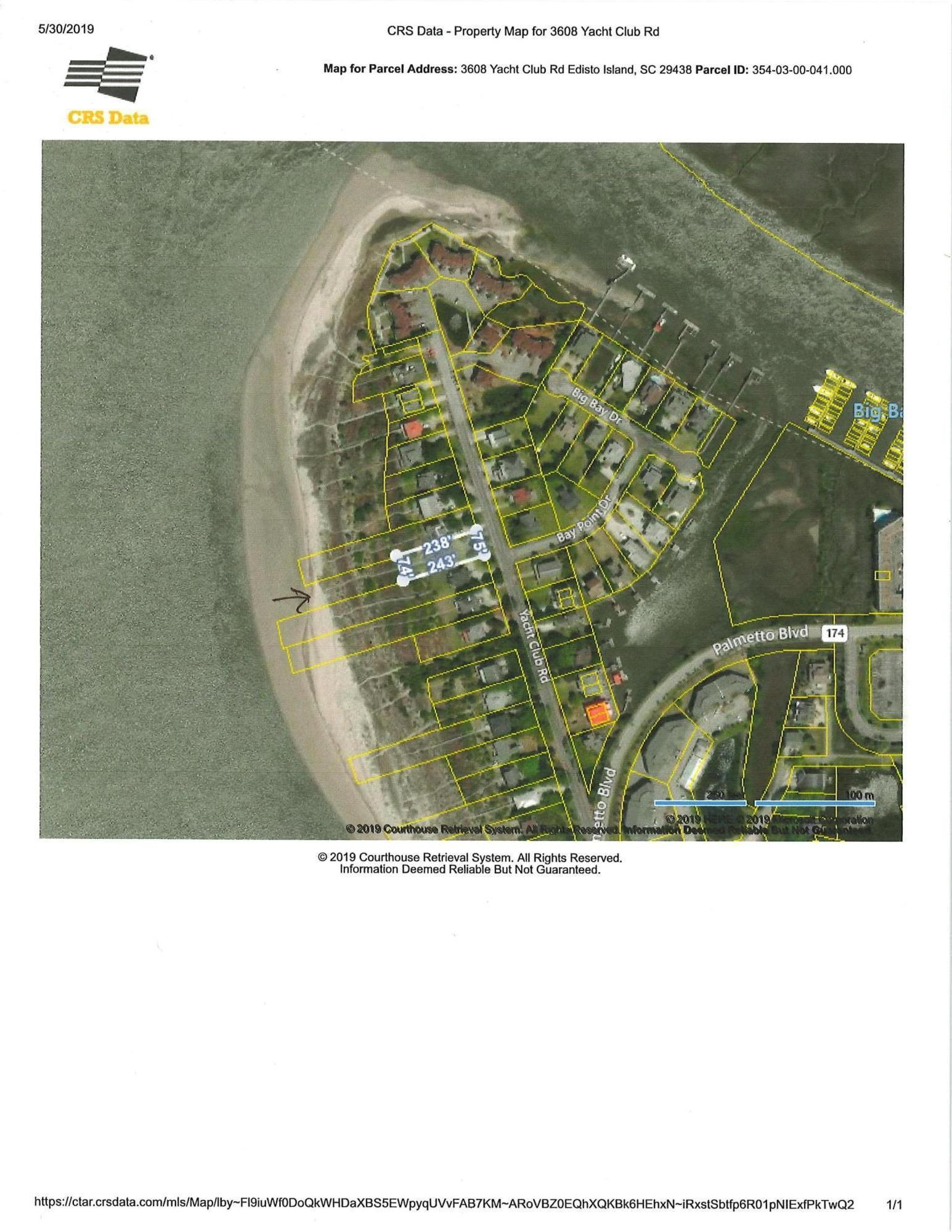 3608 Yacht Club Road Edisto Beach, SC 29438
