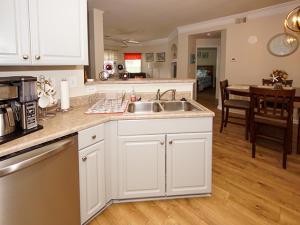 Kitchen open to main area