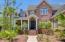 Inviting bluestone front porch