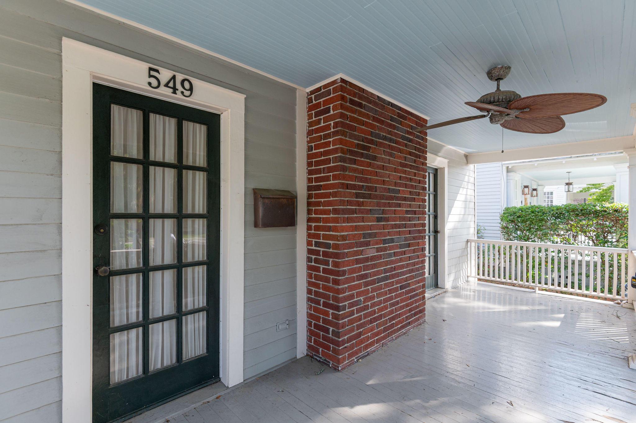 549 Huger Street Charleston, SC 29403
