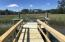 Private shared dock - a great place for fishing and crabbing