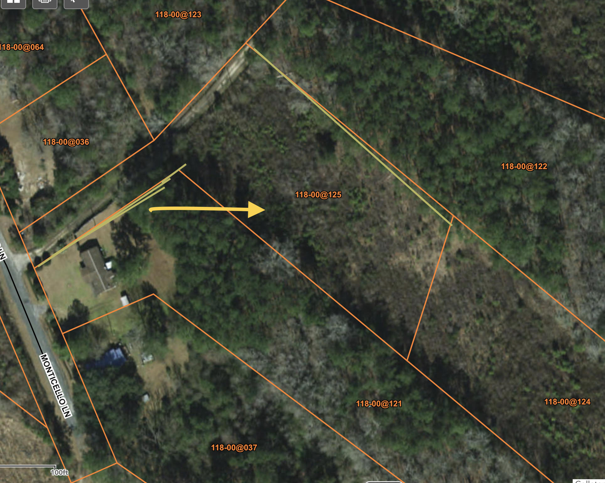 1 Monticello Lane Cottageville, SC 29435