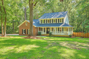 This is your opportunity to own a renovated country home on a private one acre lot, but still close to everything Summerville has to offer! 104 Paris Lane is tucked away in Caire Yelleau, a wonderful community featuring large estates, equestrian properties, and plenty of privacy. This home has many recent updates including the roof, HVAC and ductwork, and all new flooring throughout. The kitchen has extensive custom features including pull out shelving. Two large living spaces give you plenty of room to spread out and the frog can be a giant 4th bedroom or bonus room. There is extensive outdoor living space, from the wrap around front porch to the deck off the living room to the deck off the master suite overlooking your own slice of paradise. Don't miss out on this one! Agents are owners.